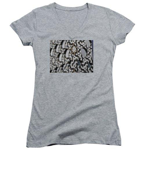 Windows Greenwich 03 Women's V-Neck T-Shirt