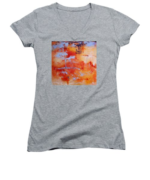 Winds Of Change Women's V-Neck T-Shirt