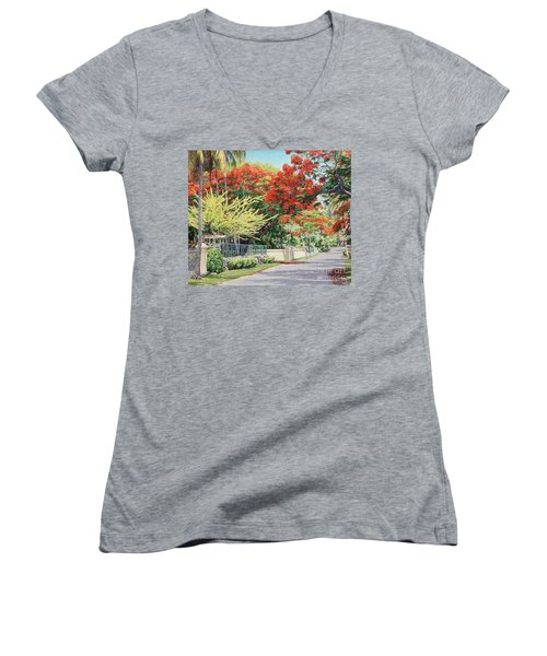 Windsor Avenue Women's V-Neck