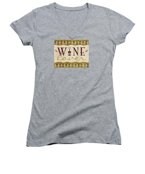 Wine Lover Women's V-Neck