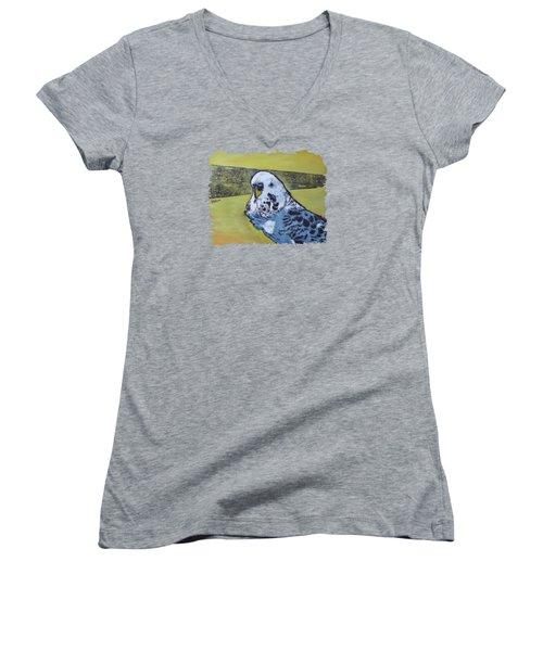 Wings Women's V-Neck T-Shirt (Junior Cut) by NAROw