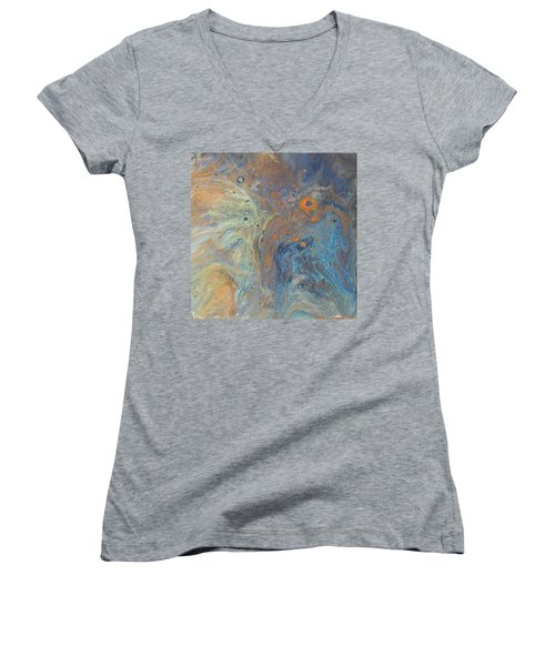 Wings On High Women's V-Neck