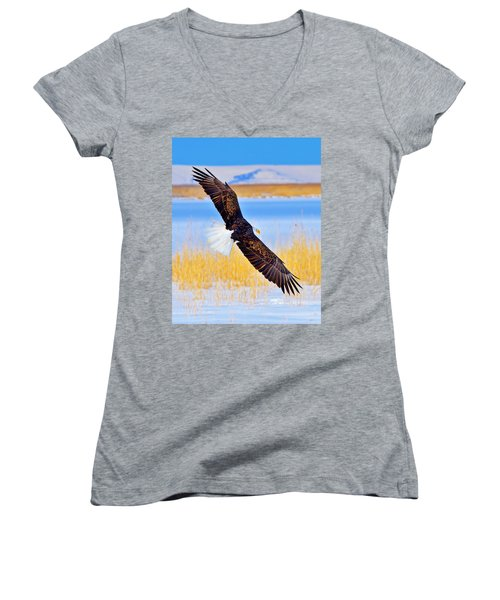 Wingspan Women's V-Neck