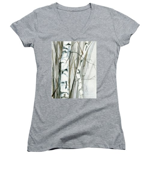 Winter Birch Women's V-Neck
