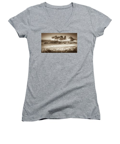 Winter - Lord's Point - Kennebunk Women's V-Neck