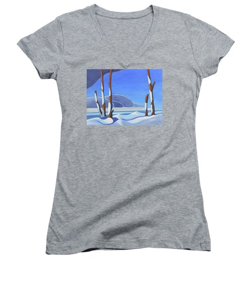 Winter Solace II Women's V-Neck (Athletic Fit)