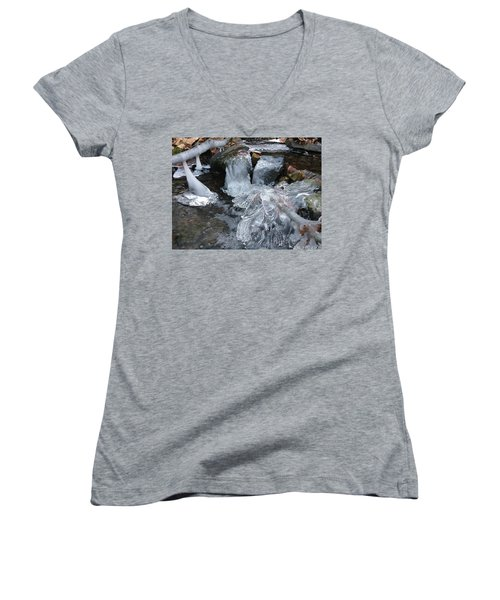 Winter Water Flow 4 Women's V-Neck (Athletic Fit)