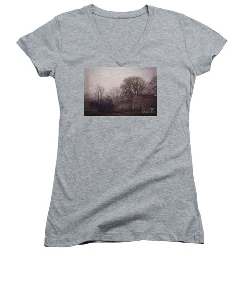 Winter Without Snow Women's V-Neck T-Shirt
