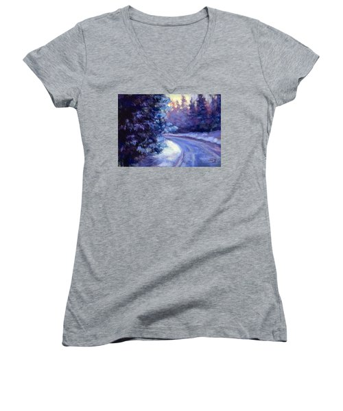 Winter's Exodus Women's V-Neck