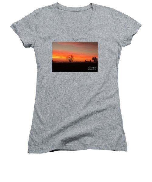 Wish You Were Here Women's V-Neck T-Shirt