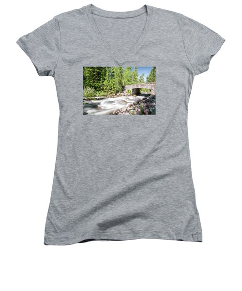 Wistful Afternoon Women's V-Neck