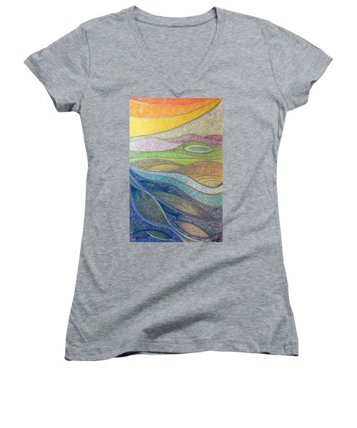With The Flow Women's V-Neck