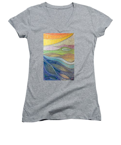 With The Flow Women's V-Neck (Athletic Fit)