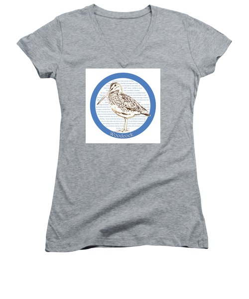 Woodcock Women's V-Neck (Athletic Fit)