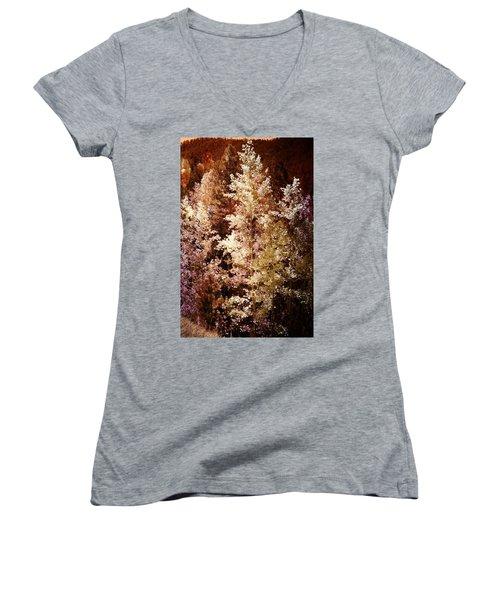 Woodland Beauty Women's V-Neck T-Shirt