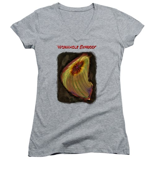 Wormhole Express Women's V-Neck