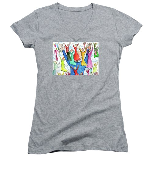 Worship Women's V-Neck