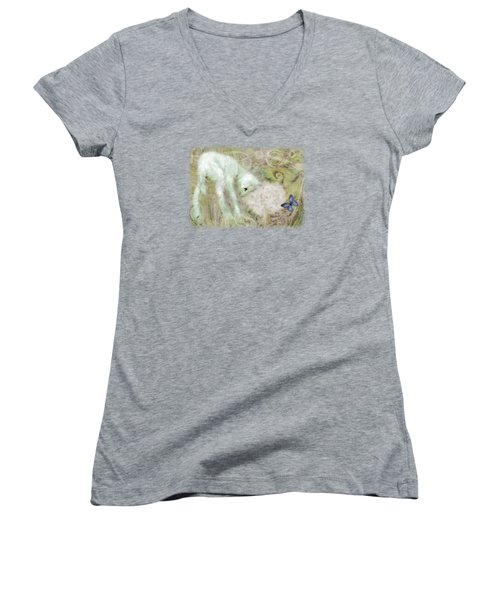 Worthy Is The Lamb Women's V-Neck (Athletic Fit)