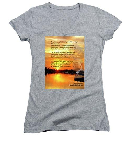 Writer, Artist, Phd. Women's V-Neck T-Shirt