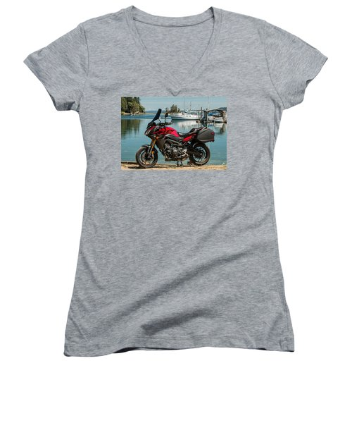 Yamaha Fj-09 .3 Women's V-Neck