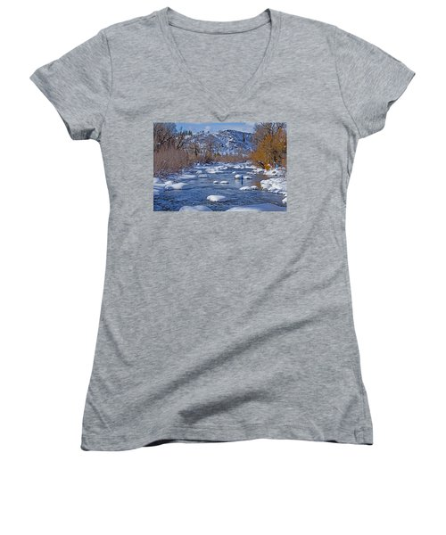 Yampa River Women's V-Neck (Athletic Fit)