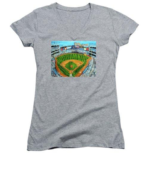 Yankee Stadium Women's V-Neck