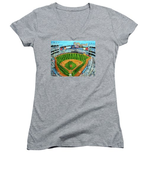 Yankee Stadium Women's V-Neck