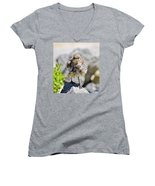 Yeh - So I Am All Wet - So What Women's V-Neck T-Shirt