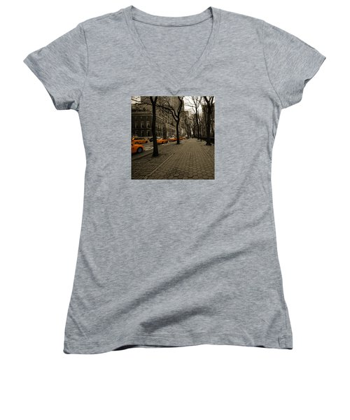 Yellow Cab Women's V-Neck (Athletic Fit)