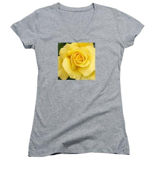 Yellow Gold Women's V-Neck T-Shirt