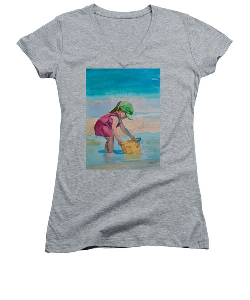 Yellow Pail Women's V-Neck