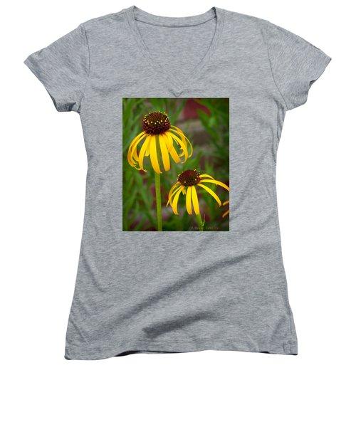 Yellow Pair Women's V-Neck