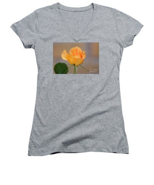 Yellow Rose Of Texas Women's V-Neck T-Shirt