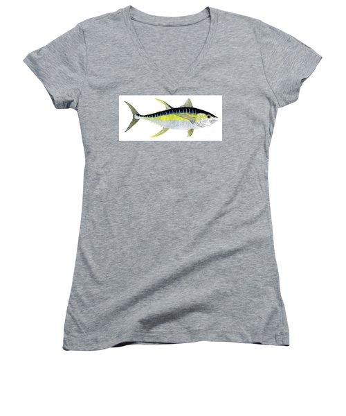 Yellowfin Tuna Women's V-Neck