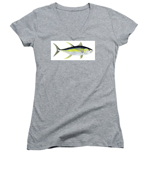 Yellowfin Tuna Women's V-Neck