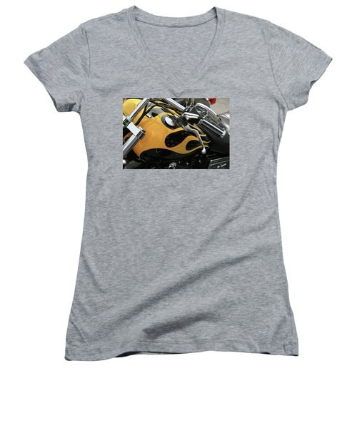 Yellowjacket Women's V-Neck T-Shirt
