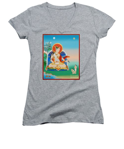 Yeshe Tsogyal Women's V-Neck (Athletic Fit)
