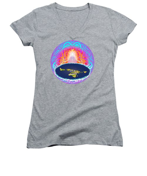 Yhwh Creation Women's V-Neck