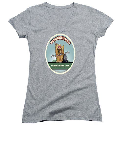 Yorkshire Ale Women's V-Neck