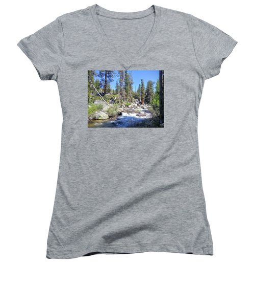 Yosemite Rough Ride Women's V-Neck