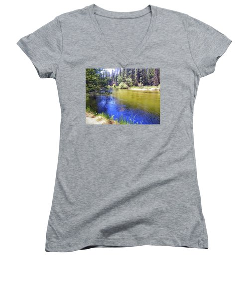 Yosemite River Women's V-Neck