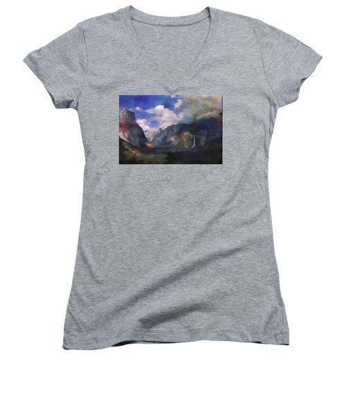 Yosemite H2o Color Women's V-Neck (Athletic Fit)