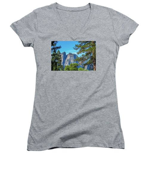 Yosemite Morning Women's V-Neck (Athletic Fit)