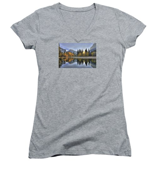 Yosemite Reflections Women's V-Neck