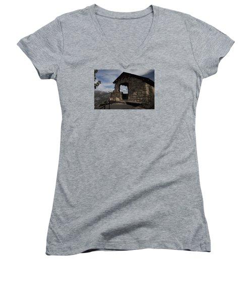 Yosemite Refuge Women's V-Neck T-Shirt