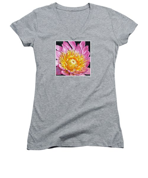 You Are My Sunshine Women's V-Neck (Athletic Fit)