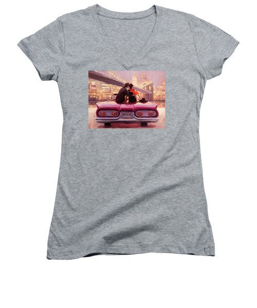 You Are The One Women's V-Neck (Athletic Fit)