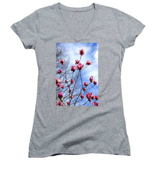 Young Blooms Women's V-Neck