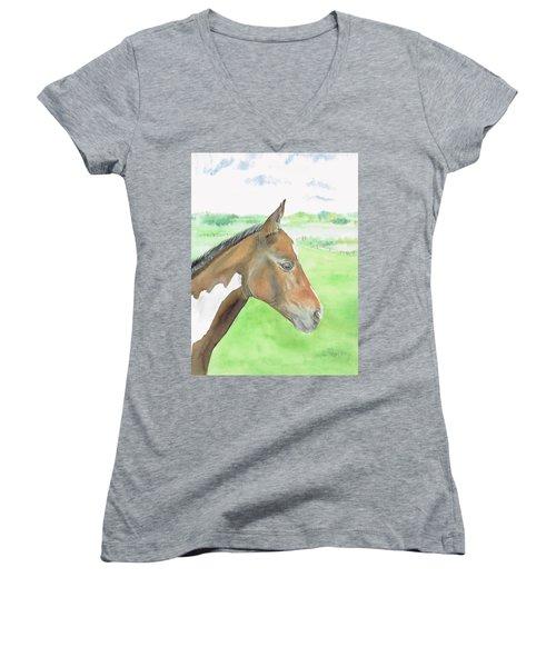 Young Cob Women's V-Neck T-Shirt