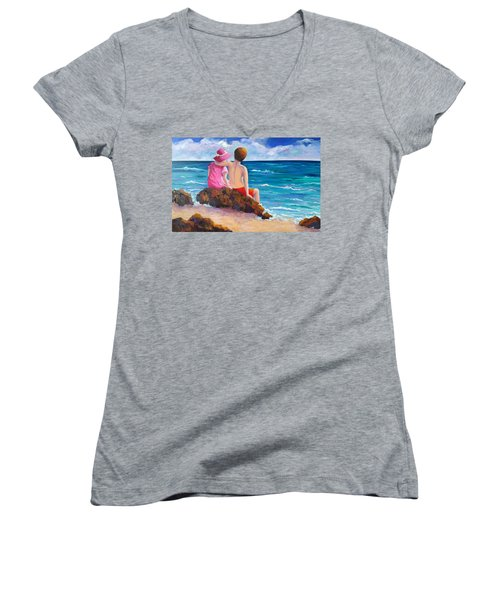 Young Love Women's V-Neck (Athletic Fit)